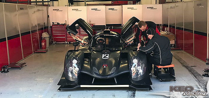 IMPRESSIVE START FOR KEO RACING IN LMP3